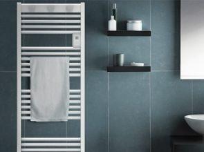 Elektromos törölközőszárító radiátor: gyors felfűtés a fürdőszobában is